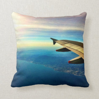 Jetsetter Costa del Sol Throw Pillow