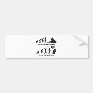 Jetskiing Bumper Sticker