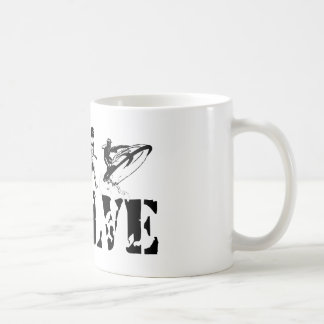 Jetskiing Jet Ski Jetski Evolution Fun Sports Art Coffee Mug