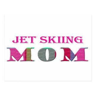 JetSkiingMom Tarjeta Postal