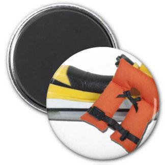 JetSkiLifeVest082612.png 2 Inch Round Magnet