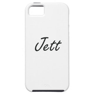Jett Artistic Name Design iPhone 5 Covers