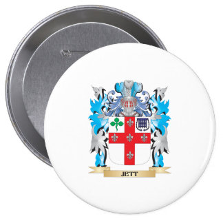 Jett Coat of Arms - Family Crest Pins