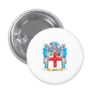 Jett Coat of Arms - Family Crest Pin