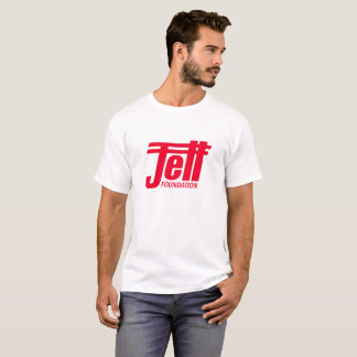 Jett Foundation White T-Shirt