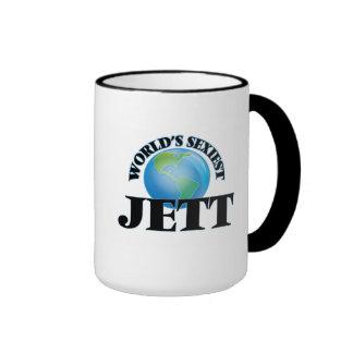 Jett más atractivo del mundo taza
