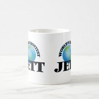 Jett más caliente del mundo taza de café