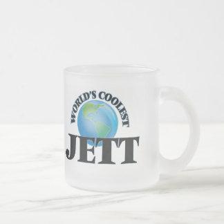 Jett más fresco del mundo tazas de café