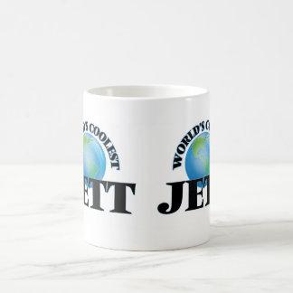 Jett más fresco del mundo taza de café