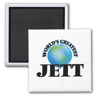 Jett más grande del mundo imán