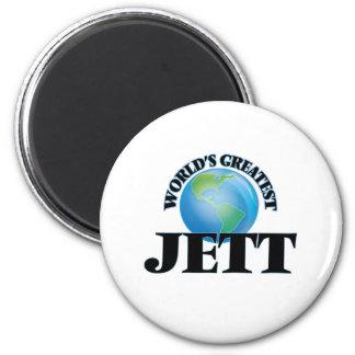Jett más grande del mundo imán de frigorifico