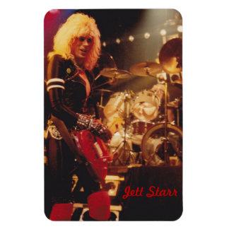 Jett Starr 80's photo magnet