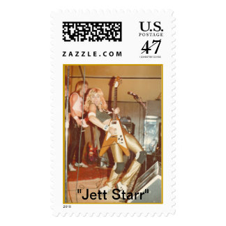 "Jett Starr 80's pic ""Jett Starr"" Stamp"