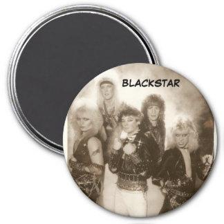 Jett Starr's 80's band BlackStar 3 Inch Round Magnet