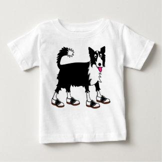 Jett the Border Collie Baby T-Shirt