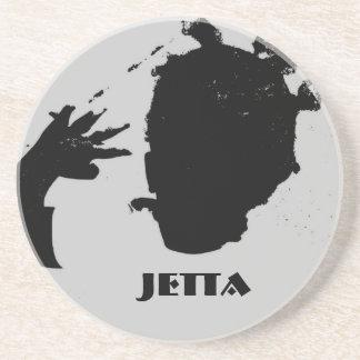 Jetta - Black Pearl Sandstone Coaster