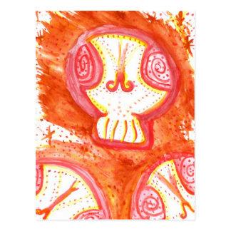 Jette Rockit! - SugarSkull Postcard