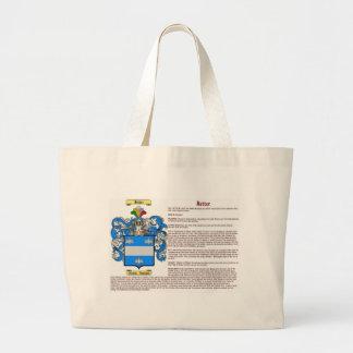 Jetter (significado) bolsa tela grande