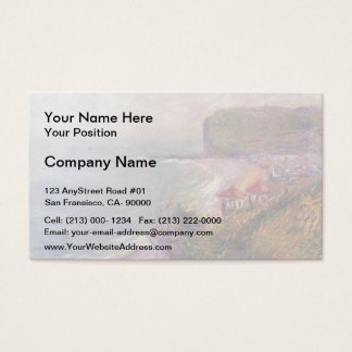 Jetty at Fecamp by Gustave Loiseau Business Card