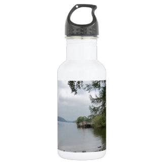 Jetty at Howtown, Ullswater 18oz Water Bottle