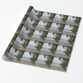 Jetty at Howtown, Ullswater Wrapping Paper