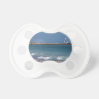 jetty boats waves florida beach pacifier