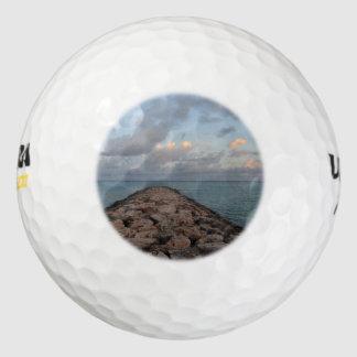 Jetty in Aruba Pack Of Golf Balls
