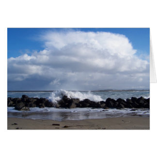 Jetty Waves Card