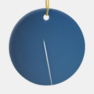 Jety dropping a contrail christmas tree ornaments