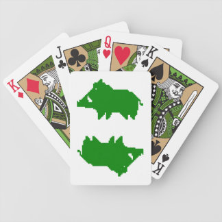 Jeu de cartes - Sanglier UNE ARDEUR D'AVANCE Bicycle Playing Cards