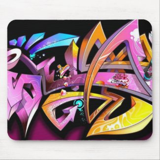 Play of color - mousepad