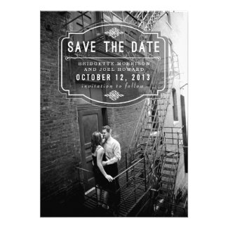 Jeune Amour by Origami Prints Save the Date Personalized Invitations