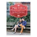 "Jeune Amour Holiday Photo Card 5"" X 7"" Invitation Card"