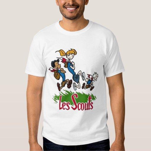 Jeunes à l'aventure... Scouts. Tee Shirt