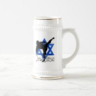 Jew Jitsu Beer Stein