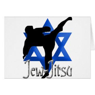 Jew Jitsu Card