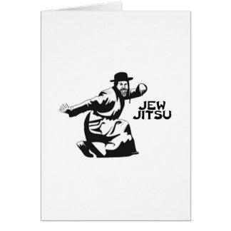 Jew Jitsu Card | Jewish Bar Mitzvah Gifts