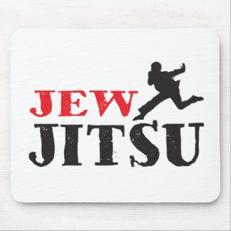 Jew Jitsu - Funny Jewish humor Mouse Pad
