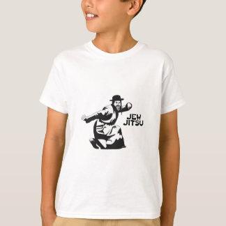 Jew Jitsu Martial Arts | Jewish Bar Mitzvah Gifts T-Shirt