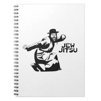 Jew Jitsu Notebook | Jewish Bar Mitzvah Gifts