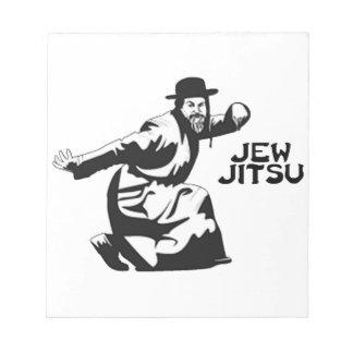 Jew Jitsu Notepad | Jewish Bar Mitzvah Gifts