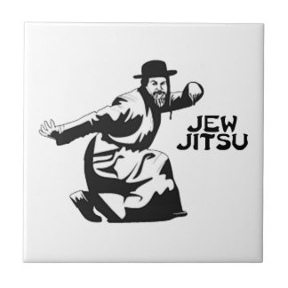Jew Jitsu Tile | Jewish Bar Mitzvah Gifts