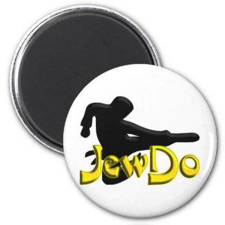Jewdo 2 Inch Round Magnet