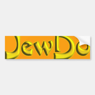 Jewdo Bumper Sticker