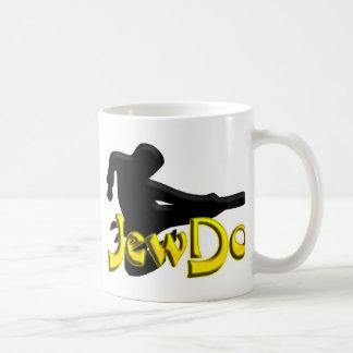 Jewdo Classic White Coffee Mug