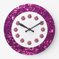 Jewel Bling Wall Clock