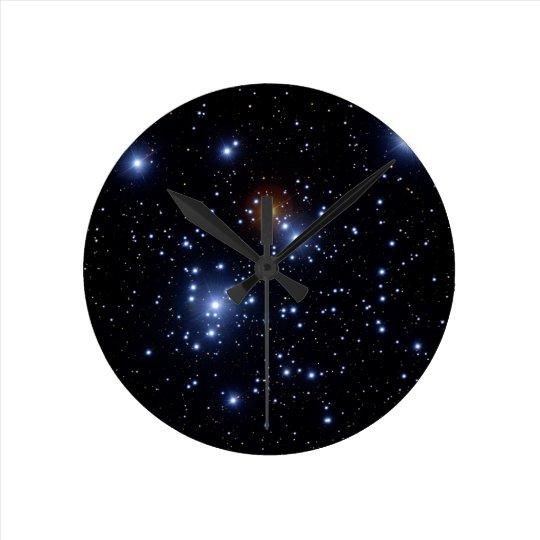 Jewel Box or Kappa Crucis Cluster Round Clock