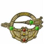 Jewel Bronze Dress Fastening Brooch Jewelery