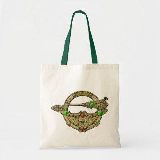 Jewel Brooch Bronze Dress Fastening Bag
