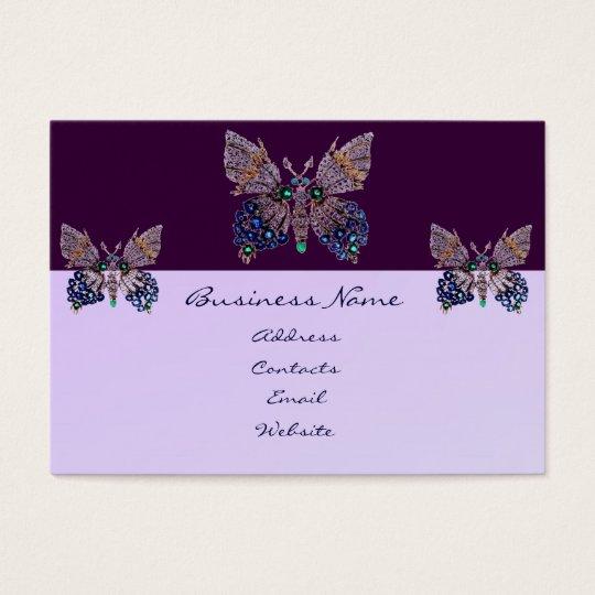 Jewel Butterflies Business Card